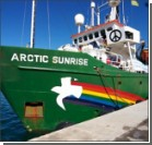 В РФ украинца с корабля Greenpeace оставили под арестом