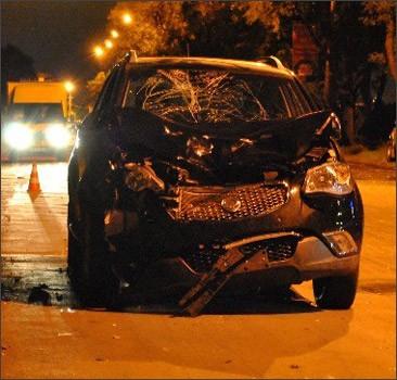 В Кривом Роге джип сбил пятерых пешеходов. Фото