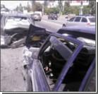 В Киеве столкнулись четыре авто, есть пострадавшие