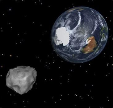 NASA собирается захватить и отбуксировать к Земле астероид. ФОТО