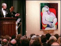Магнат продырявил многомиллионного Пикассо