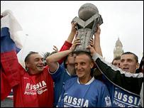 Бездомные России стали чемпионами мира по футболу