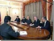 Президент России встретился с министром иностранных дел Катара