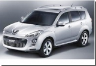 Peugeot представляет полноприводный внедорожник 4007
