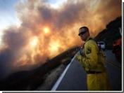 В южной Калифорнии из-за пожара, унесшего жизни 4 пожарных, введено чрезвычайное положение