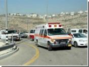 Палестинцы забросали камнями автомобиль российских журналистов