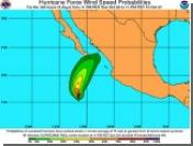 """Ураган """"Пол"""" угрожает западному побережью Мексики и южной Калифорнии"""