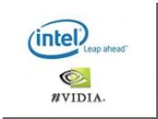 Nvidia станет выпускать интегрированные видеоадаптеры для Intel