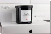 Свечу с ароматом новой техники Apple выпустили в США