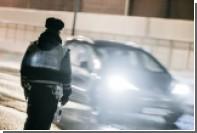 В центре Томска олень столкнулся с автомобилем и лишился рога