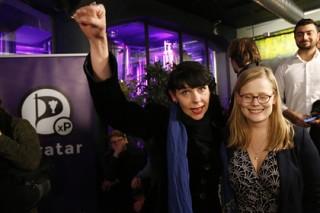 Пиратская партия Исландии показала на выборах третий результат