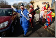 Россиян в Британии предупредили об атаках клоунов-убийц