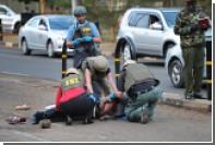 Мужчина с ножом атаковал охрану американского посольства в Кении
