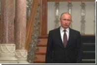 Путин рассказал о нежелании США поспособствовать отводу вооружений в Сирии