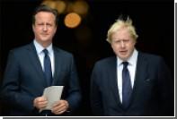Кэмерон и Джонсон приехали на похороны Переса, выпили виски и помирились