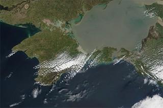 Астрономы зафиксировали движение Крыма к материковой России