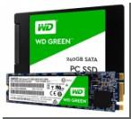 Western Digital представила свои первые SSD-накопители WD Green и WD Blue