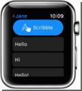 Как включить рукописный ввод на Apple Watch