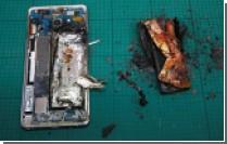 Сдетонировавший в кафе Samsung Galaxy Note 7 пришлось уносить в огнеупорных перчатках [видео]