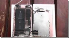 iPhone 7 взорвался в руках владельца во время видеосъемки