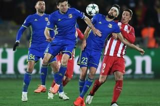 «Ростов» дома проиграл мадридскому «Атлетико» в Лиге чемпионов