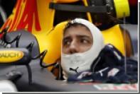 Пилот Red Bull Риккьярдо посвятил победу на Гран-при Малайзии погибшему Бьянки