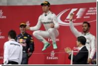 Пилот Mercedes Росберг выиграл Гран-при Японии