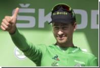 Велогонщик Саган из российской команды Tinkoff стал лучшим в Мировом туре