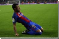 Игрок «Барселоны» забил гол ударом через себя после попадания Неймара в штангу