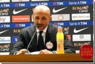 Спаллетти во время пресс-конференции бился головой об стол из-за журналиста