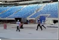 «Зенит-Арена» открылась матчем между строителями