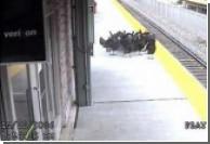Индейки пытались скрыться на поезде от дня Благодарения