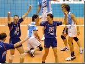 Российские волейболисты выиграли у Аргентины