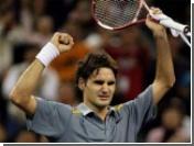 Федерер стал первым финалистом турнира в Шанхае