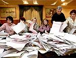 Молдавские коммунисты заявили о фальсификации выборов, и потребуют пересчета голосов