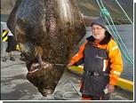 Немецкий пенсионер поймал палтуса-рекордсмена