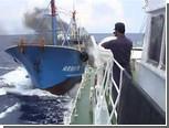 Видео столкновения китайского и японского судов выложили в интернет