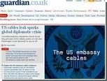 WikiLeaks опубликовал секретную переписку дипломатов США