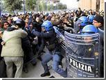 Бунтующие итальянские студенты прорвались на Колизей