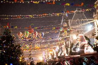 На Красной площади открылись каток и рождественская ярмарка