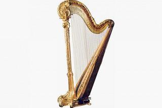 Американцы предложили музыкантам золотую арфу за 189 тысяч долларов