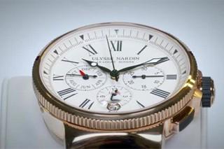 Ulysse Nardin снабдил модель Marine Chronograph годовым календарем