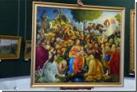 Кузбасский художник дорисовал неоконченное полотно да Винчи