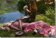 Gucci запустил моделей в райский сад с кроликами и змеями