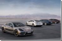 Porsche Panamera оснастили рабочим местом для задних пассажиров