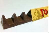 Промежутки между шоколадными треугольниками Toblerone увеличили ради экономии