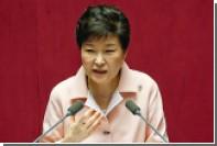 Рейтинг президента Южной Кореи упал до четырех процентов