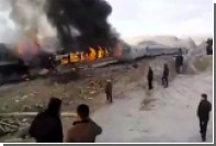 В Иране жертвами столкновения двух поездов стали 15 человек