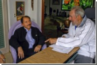 Ортега объявил в Никарагуа девятидневный траур в связи со смертью Кастро