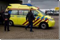 В Нидерландах пассажирский поезд столкнулся с молоковозом